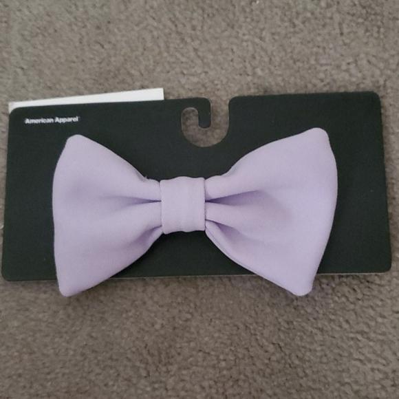 American Apparel Accessories - Viola Color Bow Clip